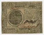 Note, Continental Congress 7 dollars